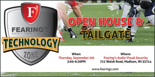 Fearing's Technology Open House & Tailgate 2019 Event
