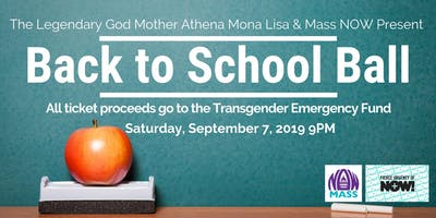 Back to School Ball: Fundraiser for the Transgender Emergency Fund