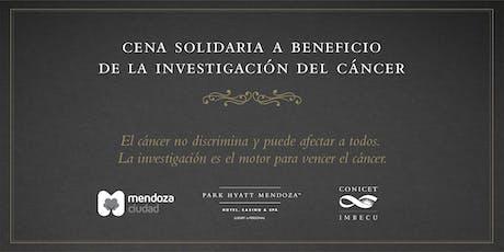Cena Solidaria a Beneficio de la Investigación del Cáncer entradas