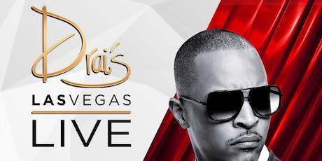 TI LIVE - Drai's Nightclub - Vegas Guest List - HipHop - July 19 tickets