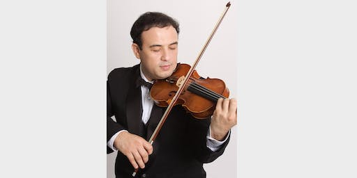 YONATAN LEVIIM  WORLD CLASS VIRTUOSO VIOLINIST   SOLO VIOLIN RECITAL