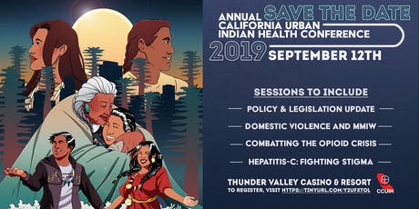 California Urban Indian Health Conference 2019 tickets