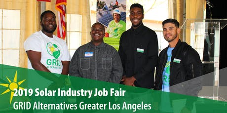 GRID Alternatives GLA 2019 Solar Job Fair tickets