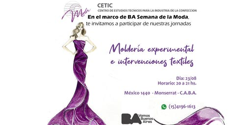 CLASE PARTICIPATIVA DE MOLDERIA EXPERIMENTAL E INTERVENCIONES TEXTILES