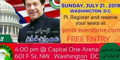 Imran Khan's US Visit tickets