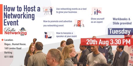 Barking - How to follow-up like a pro & host a networking event (Networking Tips) tickets