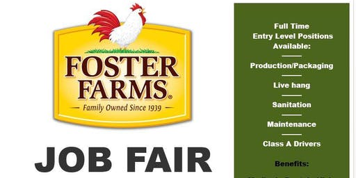 Foster Farms Turlock Job Fair