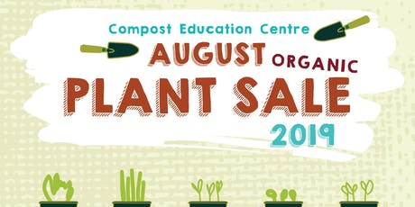 August Organic Plant Sale tickets