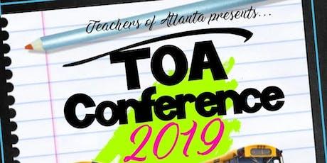 TEACHERS OF ATLANTA CONFERENCE  tickets