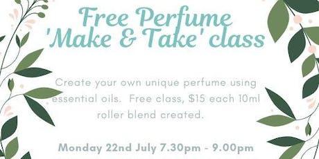 Perfume 'Make & Take' class tickets