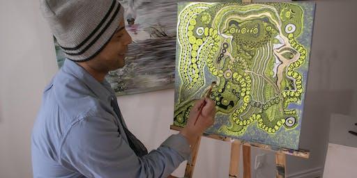 Live Art Demonstration @ Lotus Art Gallery