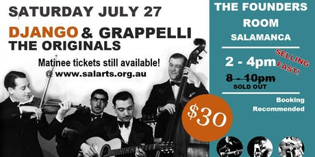 Django & Grappelli: The Originals (New 2019 Show) tickets