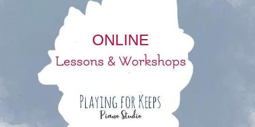 4 Song Piano Online Workshop