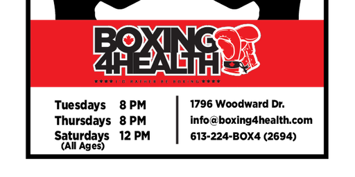 BOXING 4 HEALTH Learn To Box Get Fit