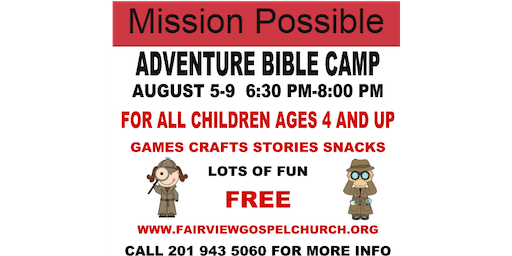 MISSION POSSIBLE ADVENTURE CAMP