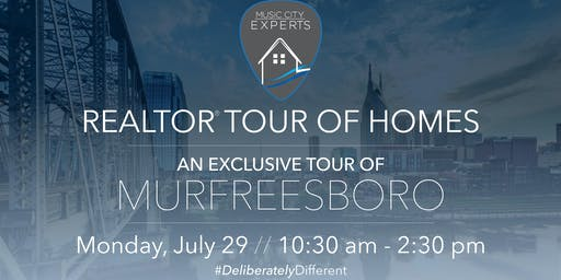 July Realtor Tour of Homes -  Music City Experts