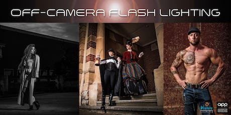 Off-camera Flash Lighting Workshop (August 2019) tickets