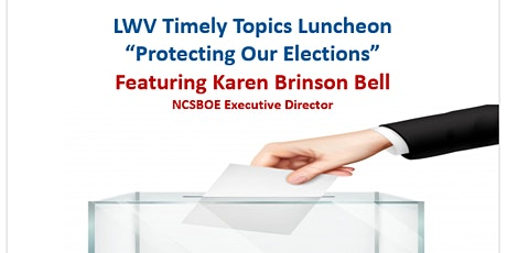 Timely Topics - Protecting Our Elections tickets