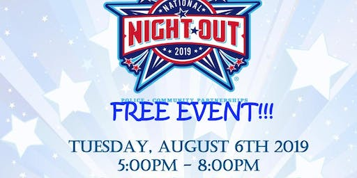National Night Out-Community Outreach  Table Registration