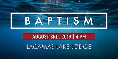 Baptism tickets