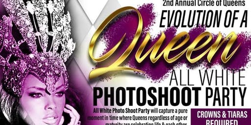 2nd Annual Circle of Queens - All White Photo Shoot Party
