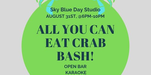 Sky Blue Day Studio ALL YOU CAN EAT CRAB BASH!!
