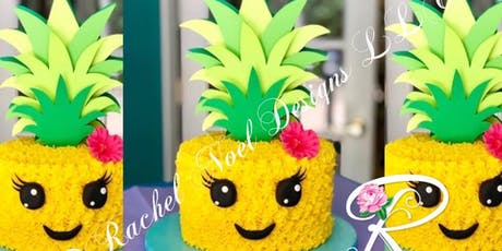 Prickly Pineapple Cake Class tickets