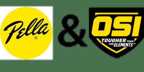 Window & Door Installation Training with Pella & OSI tickets