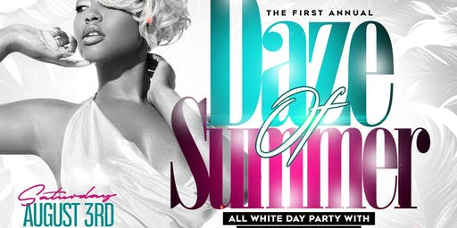 Daze Of Summer All White Day Party With A Splash Of Color