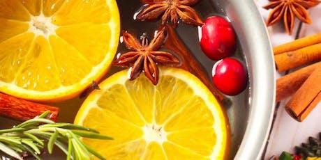 Christmas Potpourri In A Jar - Christmas Gift - Make 2 Jars - Workshop tickets