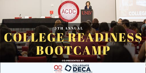College Readiness Bootcamp 2019