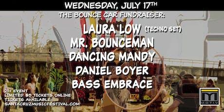Bounce Car Fundraiser: Laura Low, Mr Bounceman, Dancing Mandy, Daniel Boyer tickets