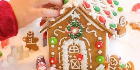 Mommy & ME - Make GINGERBREAD HOUSES tickets