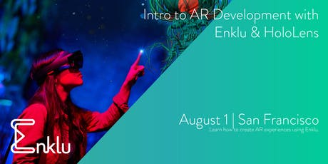 Introduction to AR Development with Enklu & HoloLens tickets