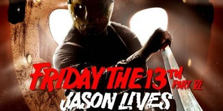 Friday the 13th Part VI: Jason Lives (1986) Movie Club Event tickets