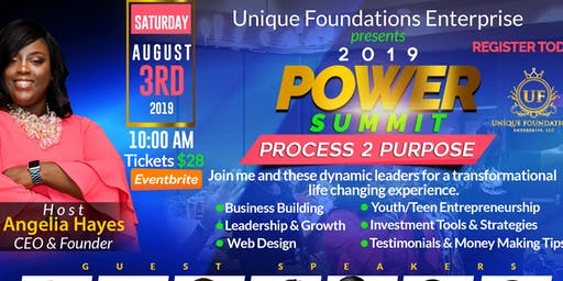 "POWER SUMMIT ""Process 2 Purpose"""