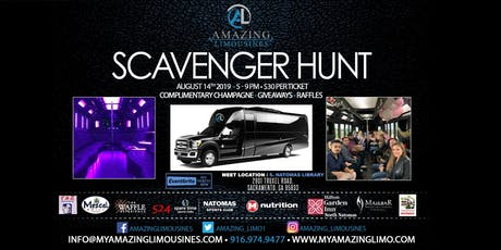 Amazing Limousines Scavenger Hunt tickets