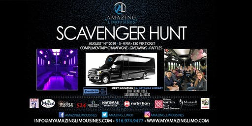 Amazing Limousines Scavenger Hunt