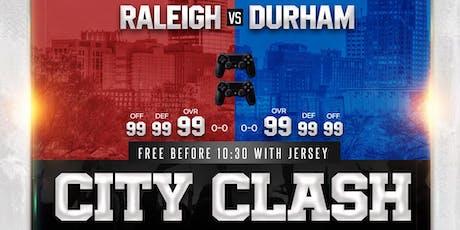 NBA 2K919 CITY CLASH tickets