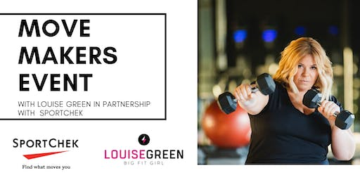 #MoveMakers Event with Louise Green & SportChek