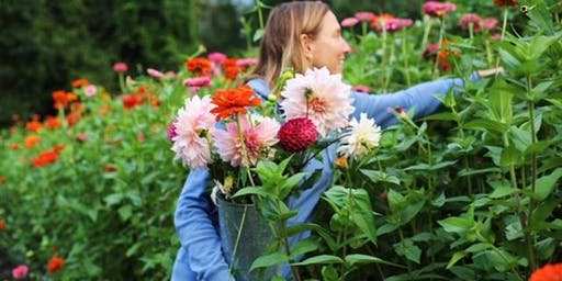 Harvest Your Own Organic Blooms And Attend A Floral Arranging Wokshop