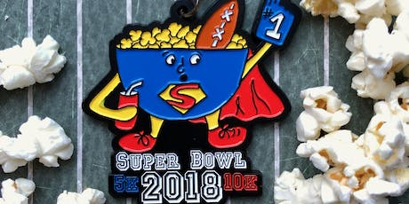 Now Only $6! Super Bowl 5K & 10K-Des Moines tickets
