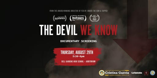 The Devil We Know Movie Screening and Q&A with Filmmaker