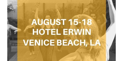 The Original DRUNK YOGA® at Hotel Erwin in Venice Beach, LA!