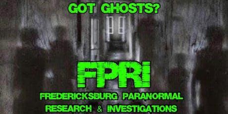FPRI Cabin on 360 Guest Investigation tickets