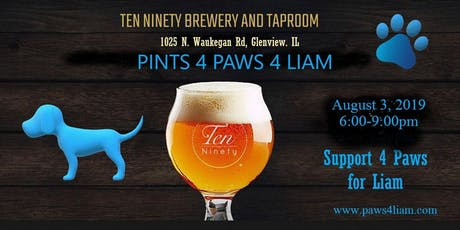 Pints 4 Paws 4 Liam tickets