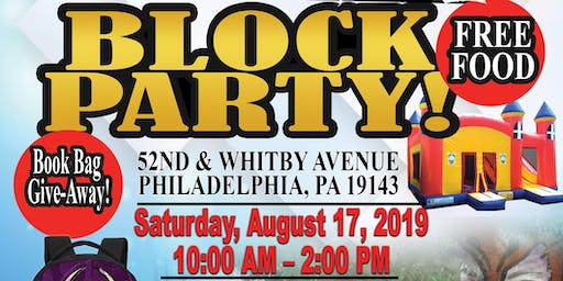 "Free Back-To-School"" Block Party"