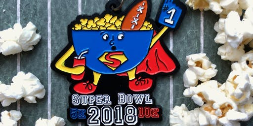 Now Only $6! Super Bowl 5K & 10K-Little Rock