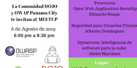Comunidad DOJO - Meetup Agosto 2019 entradas