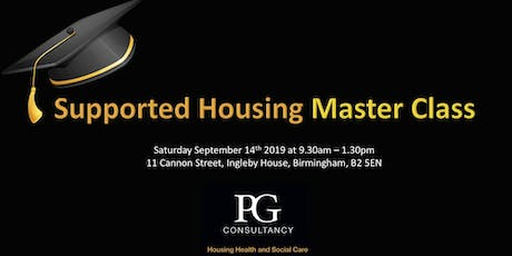 Supported Housing Master Class tickets